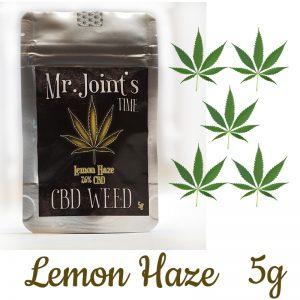 CBD Lemon Haze 7.6% CBD 5g SUSZ KONOPNY CANNABIS SATIVA
