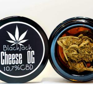 CBD Cheese OG 10,7% 1g SUSZ KONOPNY CANNABIS SATIVA