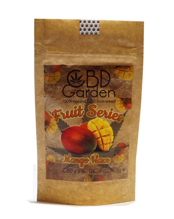 Susz konpny CBD Garden Mango. Marihuana medyczna. Konopia CBD