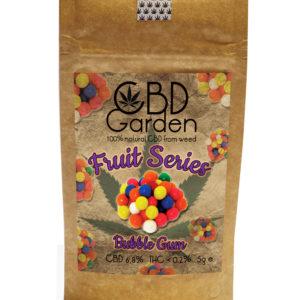 CBD Garden Bubble Gum SUSZ KONOPNY CBD 5g CANNABIS