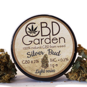CBD Silver BUD 8.2% CBD 1g SUSZ KONOPNY CANNABIS