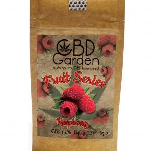 CBD Garden Raspberry SUSZ KONOPNY CBD 5g CANNABIS