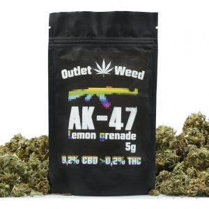 Susz CBD 9,2% 5g AK-47 Lemon Grenade