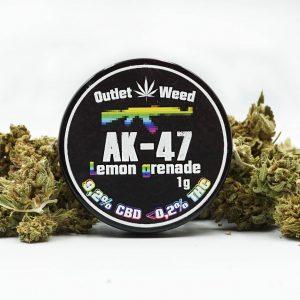 Susz CBD 9,2% 1g AK-47 Lemon Grenade